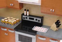 LEGO scenarier