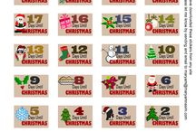 Journaling stickers - Christmas