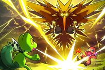 Pokemon Mystery Dungeon: Red & Blue Rescue Team / Official artwork from Pokemon Mystery Dungeon: Red & Blue Rescue Team for Game Boy Advance and Nintendo DS respectively. Gallery including Pokemon, Characters and items. More info on these games @ http://www.pokemondungeon.com/pokemon-mystery-dungeon-red-blue-rescue-team