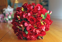Roses are Red / Red bouquets created by www.RedEarthFlowers.com.au