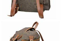 School Backpack / Artisans hand-crafted canvas & leather bags to withstand the test of time. Our line include briefcase, messenger bags, weekend bags, women's fashion totes, handbags, overnight bags, travel bags, and photography bags. Perfect for modern go-getters. If you are looking for an accessory that is both highly functional and fashion-forward you are in the right place!  Welcome to visit our store : http://www.lisabag.com/
