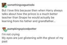 Snape is an asshole
