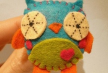Felt ideas etc... (owl)