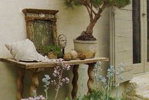 Outdoor Gardens / Beautiful Gardens & their Ornamentations