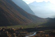 "Tsum Valley Sacred Mystical Adventures / ""Hidden Valley of Happiness"" remote buddhist mystical valley in Nepal. www.enlighteningadventures.com"