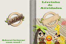 Livrinhos para Colorir / http://digitalsimples.blogspot.com.br/2014/06/livrinhos-de-atividades-e-livrinhos.html