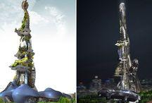 Taiwan Tower 2- A Tower of Algae