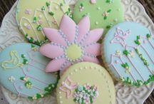 Cookies no tema Jardim/ Garden Cookies