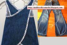 modello riciclo jeans