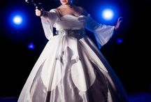 Cosplay ball gowns