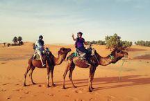 Merzouga, Sahara desert in Morocco