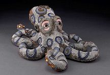 Betsy Youngquist / Wonderful bead encrusted critters