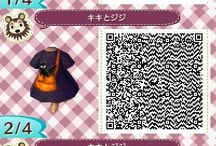 ACNL / Animal Crossing New Leaf QR-codes