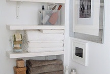 Storage for small spaces / by Jennifer Eapen