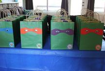 TMNT birthday party ideas / by Dara Campanella