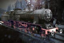 Ok 22 / 3D locomotive