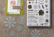 Stampin Up Flower, Garden and Plant inspired cards