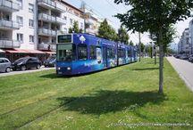 Freiburger Verkehrs AG >> Duewag GT8D-MN-Z / Sie sehen hier eine Auswahl meiner Fotos, mehr davon finden Sie auf meiner Internetseite www.europa-fotografiert.de.