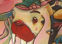 David Sossella - acrylic canvas