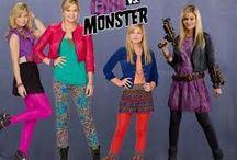Girl v.s monster
