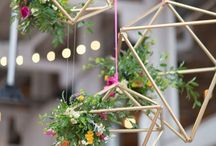 Geometric / Everything from decor to stationery and cake ideas, geometric shapes are a big trend for 2016/2017.