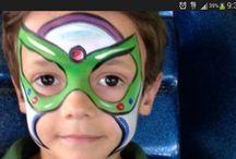 Facepaint super heros