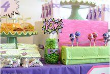 Party Ideas - Girls super hero