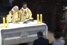 Transmisje video z Opactwa Benedyktynów w Tyńcu / Transmisje live z kościoła oraz z kamery zewnętrznej na panoramę Opactwa oraz okolicy.