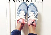 Styling sneakers / ideas for the girl who never wears sneakers. need to get some wear out of the sneakers in my closet