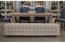 Tufted Bench#long#Extra long#For End Of bed!
