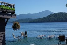 """Lake Placid, NY / This is truly an international alpine town, and a region that provides a veritable outdoor playground to satisfy even the most diverse and discerning taste. If you are interested in Lake Placid, NY real estate, The Keir Weimer Team can help you find just what you need. If you are ready to live the """"alpine life"""", give us a call today!"""