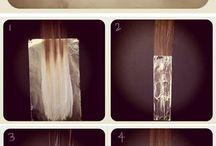 Dip day hair