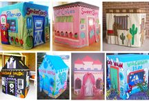 PVC playhouses