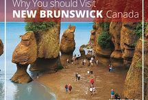 New Brunswick, Canada / Exploring New Brunswick, Canada!