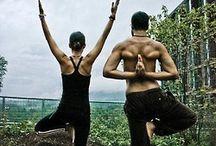 Couples yoga!!!
