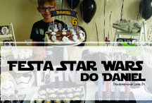 Festa Star Wars do Daniel - 6 anos
