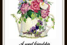 Scripture Quotes Art Prints / Beautiful vintage art prints with motivational scripture quotes