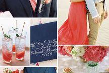 Color Pallets / Wedding colour combinations and Pantone colour pallets.