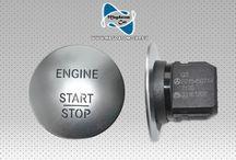 Engine Start Stop Knopf Keyless-Go Mercedes W221 W216 CL65 ML GL A2215450714