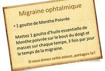 Astuces - Santé - Migraines
