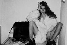 The one and only. / Kate Moss.