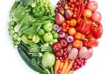 healthy heart vegetables / värikkäät sydänystävälliset vihannekset