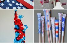 July 4th & Patriotic Activities / This board will feature kids learning activities and crafts for any  patriotic holiday including the 4th of July, Memorial Day and Labor Day.