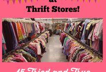 Get Thrifty / by Victoria Harris