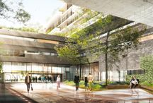 HOSPITALS / Interior design and architecture of hospitals.
