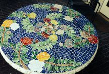 Stained Glass / Shiny stuff, stained glass, mosaic works for gardens & more