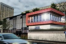 New Office building / 3D model - render image - new Office district
