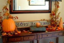 PCFalloween / Gear up for Fall by creating a festive environment in your home.  From leaves to sunflowers to pumpkins and ghosts!  This board will help inspire your seasonal decor from the beginning of Fall to Thanksgiving.  Leaves, pumpkins, and turkeys galore!