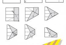 papperflygplan