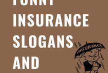 Top 65 Funny Insurance Slogans & Taglines